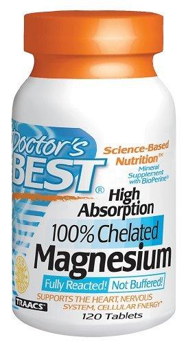 Лучшие высокое поглощение магния 100 мг Tabs врача, 120 карат