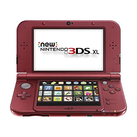 Nintendo New 3DS Xl – Red Discontinued