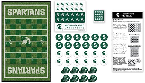 MasterPieces Collegiate Michigan State Checkers Game