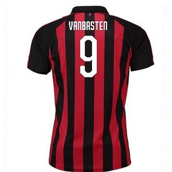 2018 2019 AC Milan Puma Home Football Soccer T Shirt Trikot