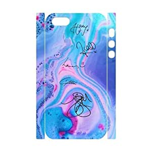 wugdiy Customized Cell Phone 3D Case Cover for iPhone 5,5S with DIY Design One Direction Signature