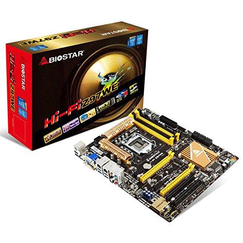 Biostar ATX DDR3 1333 LGA 1150 Motherboards HI-FI Z97WE ()