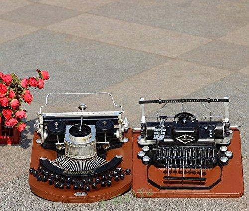 T S/& antigua máquina de escribir casa vintage Adornos decorativos, caffetteria, bar los tubos de residencia Studio: Amazon.es: Hogar