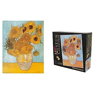 Mini Puzzle Made In Italy Quadro Girasoli Van Gogh 260 Pezzi Misure 336x235 Idea Regalo