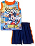 Kyпить Disney Toddler Boys' Mickey Mouse Short Set with Tank Tee, Blue, 2T на Amazon.com