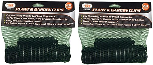 iit TYG5461 IITT Plant and Garden Clips, 2 Pack, Multi