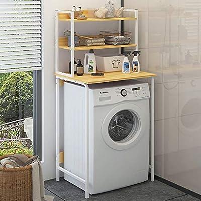 Estante de la lavadora Balcón tambor para lavadora, estante para ...