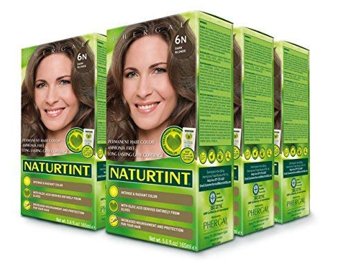 (Naturtint Permanent Hair Color - 6N Dark Blonde, 5.6fl.oz (6-pack))