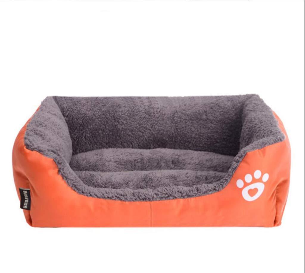 XHCP Pet Nest Pet Mattress Sofa Bed Cat Litter Teddy Kennel Winter Thick,C,XXXL