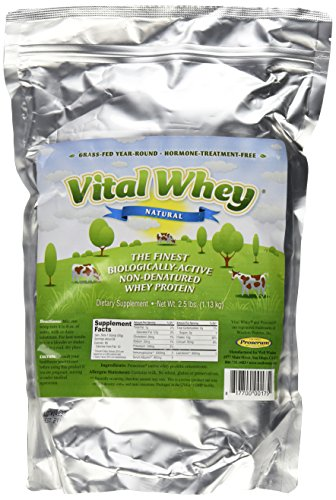 Well Wisdom Proteins Vital Whey Natural, 2.5 Pound For Sale