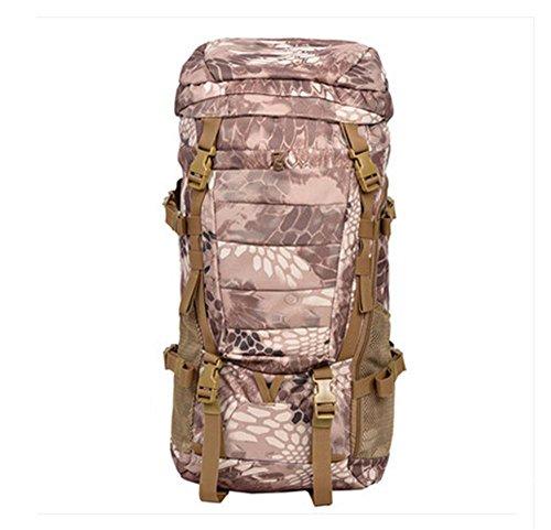 BUSL bolso del alpinismo del hombro de la mochila a prueba de agua al aire libre los hombres y las mujeres viajan capacidad de montar mochila de senderismo . b e