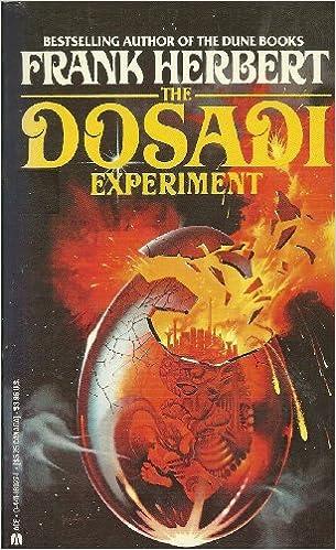 Dosadi Experiment: Herbert, Frank: 9780441160273: Books - Amazon.ca