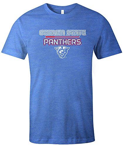 NCAA Georgia State Panthers Reverse Short Sleeve Triblend T-Shirt, Medium,Royal