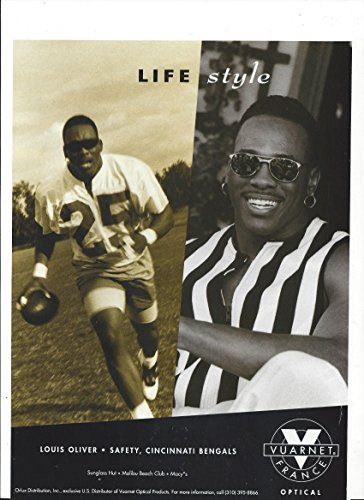 --PRINT AD-- With Louis Oliver For 1992 Vuarnet Sunglasses --PRINT - Sale For Vuarnet Sunglasses
