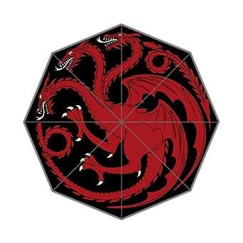 Game Of Thrones Targaryen Custom Foldable Umbrella Men Women Kid's Umbrella Travel Umbrella Anti UV