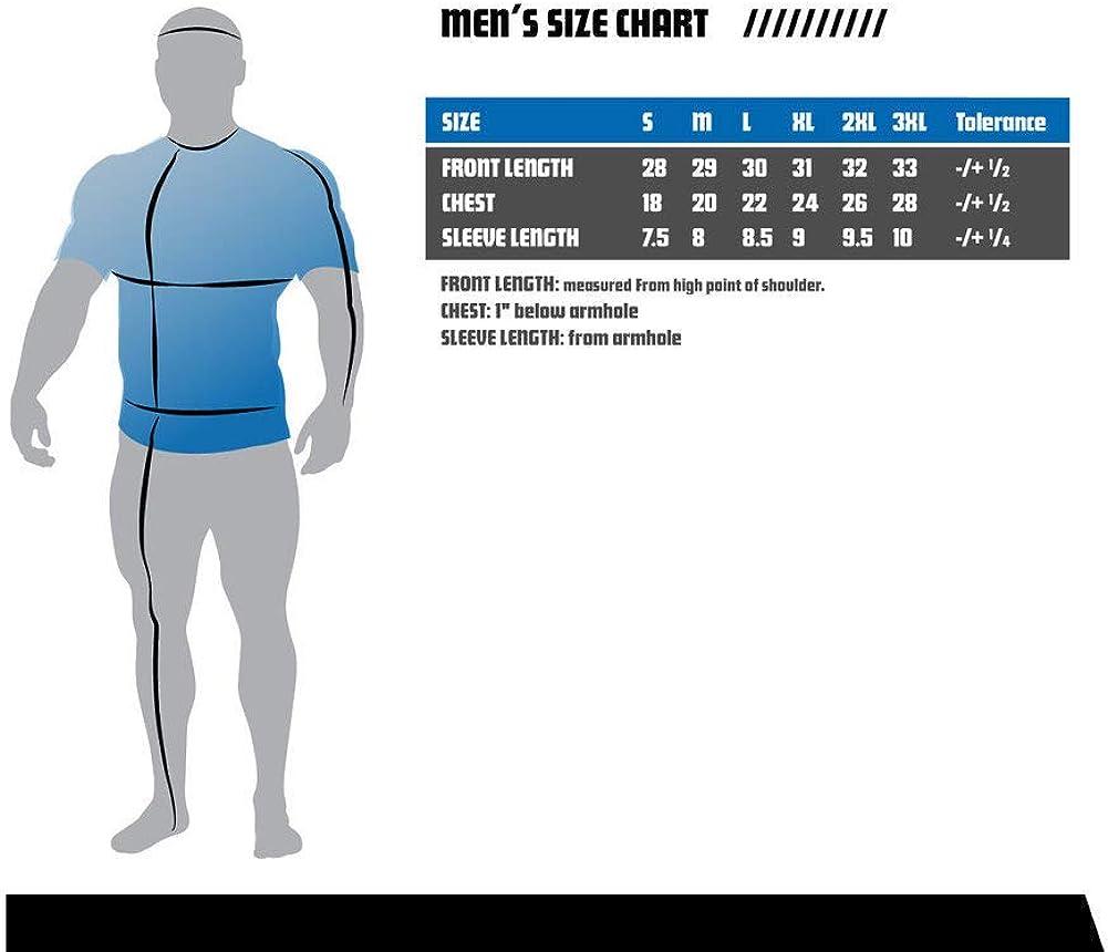 Elite Fan Shop NCAA Mens T Shirt Charcoal Seal