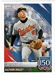 Cal Ripken Jr. (150 Years) / Lourdes Gurriel Jr. (Baseball Card - Sticker) 2019 Topps Stickers # 115 Mint