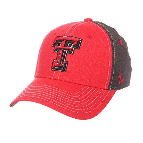 - NCAA Texas Tech Red Raiders Men's Dusk Hat, Medium/Large, Team Color/Dark Grey
