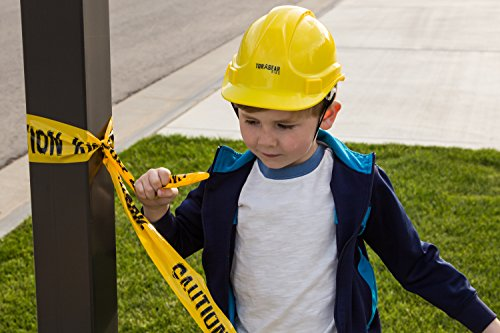 Child Hard Hat - Ages 2 to 6 - Kids Yellow Safety Construction Helmet Costume by TorxGear Kids (Image #5)