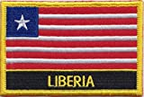 Liberia Country Flag Embroidered Blazer Badge Patch