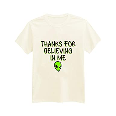 Amazoncom Unisex Adults Thanks For Believing In Me Aliens