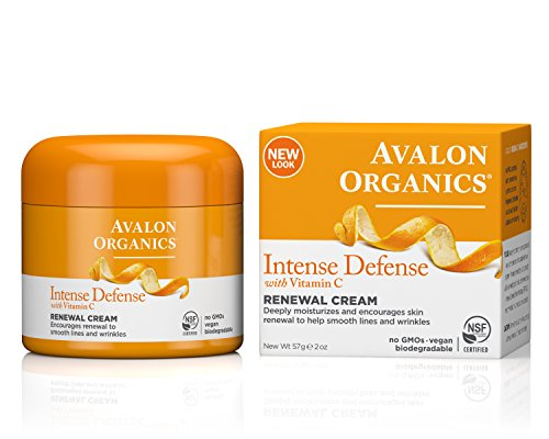 Renewal Cream (Avalon Organics Intense Defense Renewal Cream, 2 Ounce (Pack of 2))