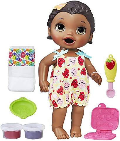 Baby Alive Super Snacks Snackin' Lily (African American) (Amazon Exclusive) – The Super Cheap