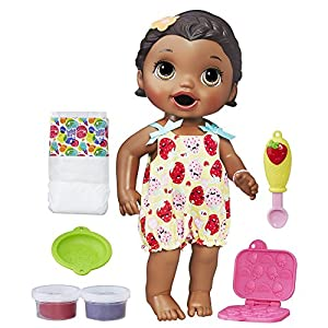 Baby Alive Super Snacks Snackin' Lily (African American) - 51CCfcS5liL - Baby Alive Super Snacks Snackin' Lily (African American) (Amazon Exclusive)