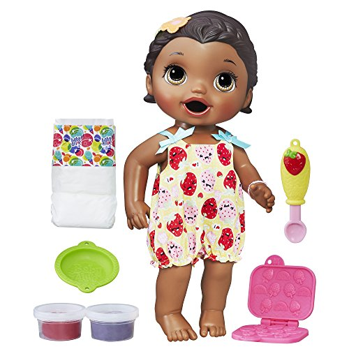 : Baby Alive Super Snacks Snackin' Lily (African American) (Amazon Exclusive)