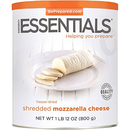 Provident Pantry® Freeze Dried Shredded Mozzarella Cheese