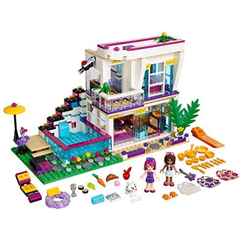 619Pcs Bela Friends Series Livi's Pop Star House Building Blocks Toy (Star Pop Mini)