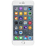 Apple iPhone 6s Plus 128 GB US Warranty Unlocked Cellphone - Retail Packaging (Silver)