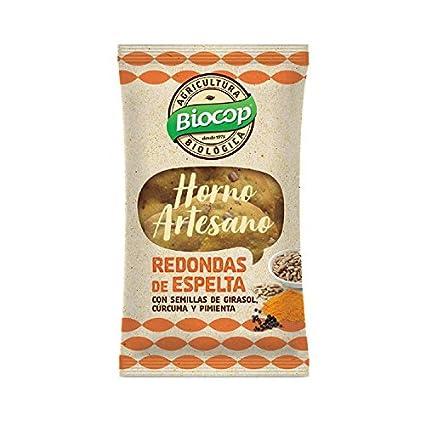 Biocop Redondas espelta cúrcuma Pimienta 50 g