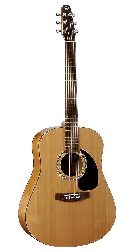 03e5250a05f Seagull S6 Original Acoustic Guitar  Amazon.co.uk  Musical Instruments
