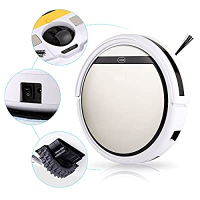 Smart Auto Vacuum Microfiber Dust Cleaner Robot Floor Dust Cleaner Sweep Machine