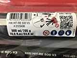 Hilti Injectable Mortar Epoxy adh RE 500-V3