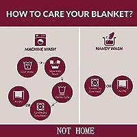 Mermaid Blanket, NOT HOME Mermaid Tail Blanket Warm Soft All Seasons for Adults Teens,Sofa Quilt Living Room Super Sleeping Bags