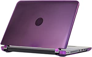 "iPearl mCover Hard Shell Case for 15.6"" HP ProBook 450/455 G4 Series (NOT Compatible with Older HP ProBook 450 G1 / G2 / G3 Series) Notebook PC (PB450-G4 Purple)"
