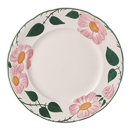 Villeroy & Boch Rose Sauvage Héritage Dinner Plate, 26 cm, Premium Porcelain, White/Multicoloured ()
