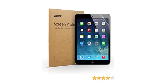 Anker - Protector de Pantalla de Alta Definición HD para iPad Air/iPad Air 2
