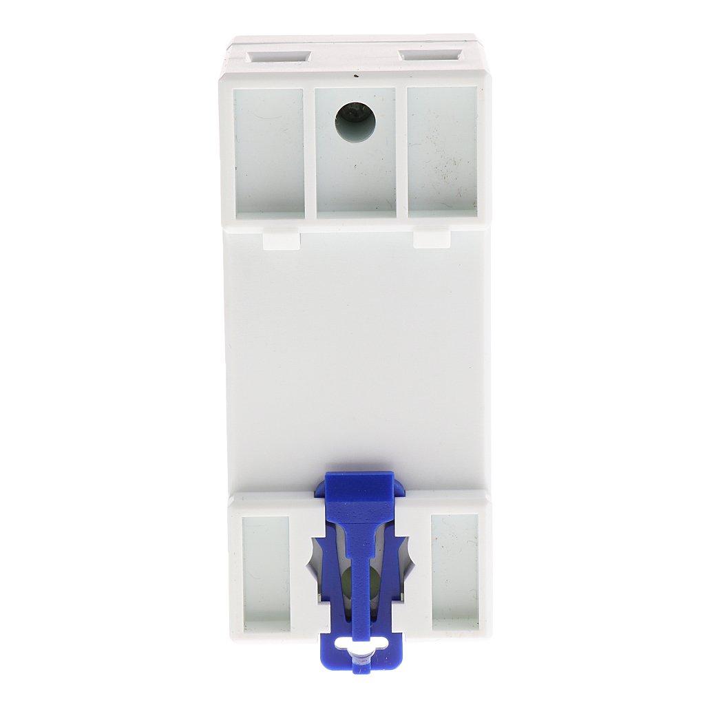 A 15 MagiDeal Power Meter Contatore Energia Elettrica KWH Guida DIN-Rail Monofase LCD AC 220V 60