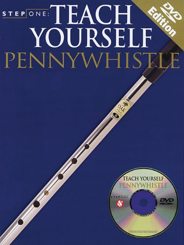 STEP ONE - TEACH YOURSELF PENNYWHISTLE BOOK/CD/DVD