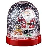 Christmas Shop Character Snowglobe Decoration (One Size) (Santa)
