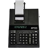 Monroe 2020PlusXB 12-Digit Medium-Duty Color Printing Calculator