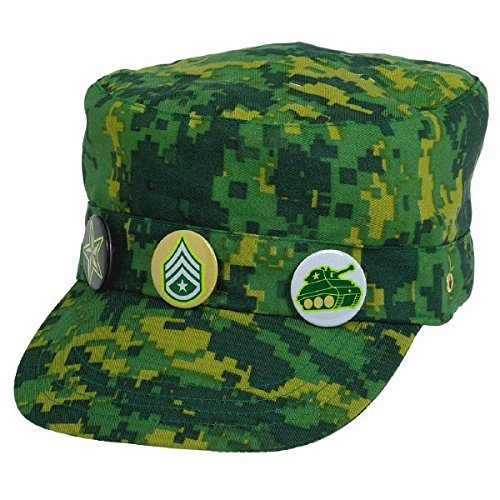 Army Costumes Ideas (Camouflage Deluxe Fabric Hat)