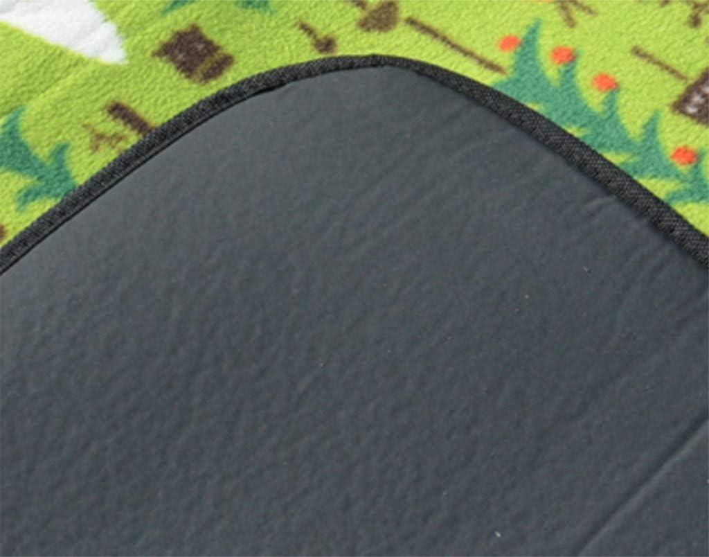 JKLL Extra Grande Picnic e Coperta Esterna Doppi Strati per Esterno Resistente all'Acqua Handy Mat Tote Primavera Estate Grande per la Spiaggia o Campeggio sull'erba Impermeabile 2