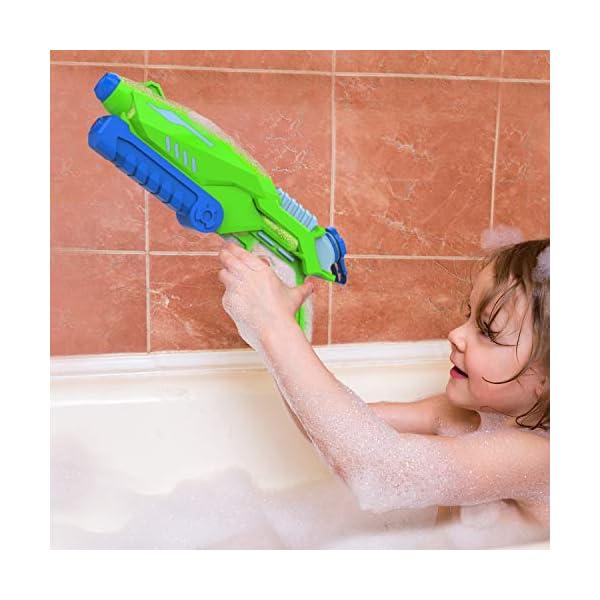 Joyjoz Pistole ad Acqua 2 PCS, 800ML Potente Pistola ad Acqua per Bambini e Adulti Estivi All'aperto Giocattoli per… 3 spesavip
