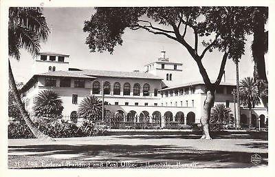 F1634 HI, Honolulu Fed. Bldg./Post Office Ph. Postcard