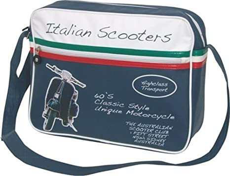 Dakota - Borsa a tracolla VESPA ITALIAN SCOOTER 5bc846a90cd