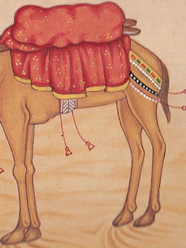 Camel - Watercolor Painting On Paper by Exotic India (Image #3)